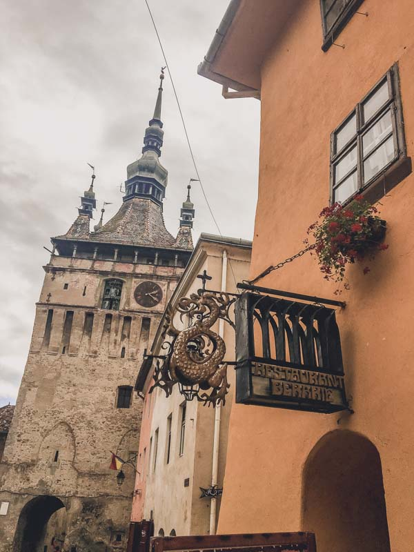 Sighishora Clock Tower 7 Spooky Things to Do in Sighisoara